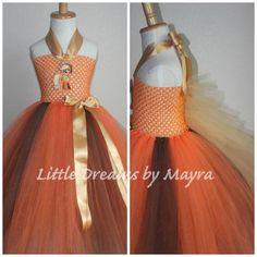 Vestido inspirado en applejack por LittledreamsbyMayra en Etsy