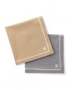 Use a bleach pen to make your own personalized napkins. Get the how-to:  http://www.marthastewartweddings.com/312328/good-things-table-settings/@center/312332/good-things#