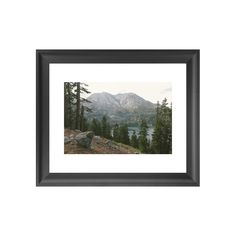 Bring the beauty of Nevada and California's shared majestic oasis into your home with this stunning print. A gorgeous hillside view of the area's serene scenery, this Lake Tahoe Art Print will charm an...  Find the Lake Tahoe Art Print, as seen in the The Great Indoors  Collection at http://dotandbo.com/collections/2015-trends-the-great-indoors?utm_source=pinterest