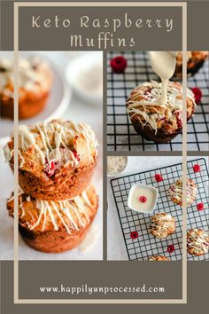 A healthy alternative to fattening muffins made with almond and coconut flours