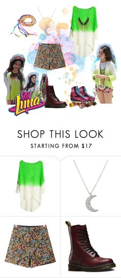 """soy luna"" by maria-look on Polyvore featuring Finn, Chicnova Fashion, Dr. Martens and Miso"