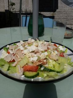feta cheese and chicken salad