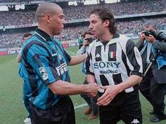 Ronaldo & Del Pieiro