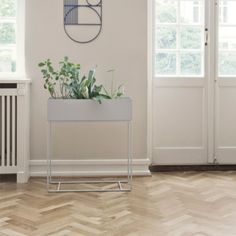 Ferm Living Plant Box, harmaa | Yrtti/kukkaruukut | Keittiö | Finnish Design Shop