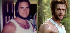 Art Briles IS Wolverine. (Yes, that really is the #Baylor head football coach in his younger days.) #SicEm