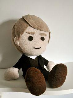 BBC Sherlock  John Watson Plush Doll by atelierciel on Etsy, $50.00