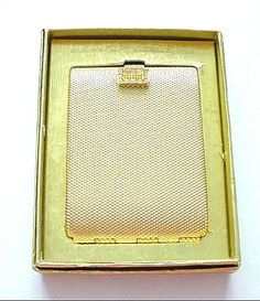 Image detail for -Vintage Max Factor Fancy Rhinestone Clasp Pressed Powder Compact from ...