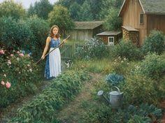 Working in the Garden Robert Duncan