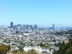 Downtown from Twin Peaks - San Francisco Faves by the San Francisco Locals Guide