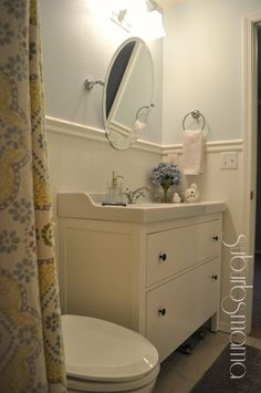 Our Bathroom is finally complete!   It took us about 2 weeks to finish and we are loving it.     I love how bright the space is now     Ta...
