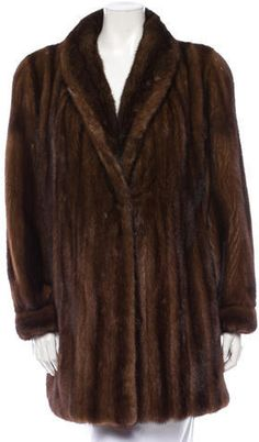 Dark Brown Fur Coat by Marc Jacobs. Buy for $3,000 from TheRealReal