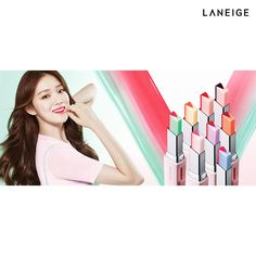 LANEIGE Two Tone Tint Lip Bar 2g 8 Colors Amore Pacific Korea Cosmetics  #Laneige