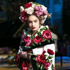 Dolce & Gabbana Alta Moda Spring 2017 Couture