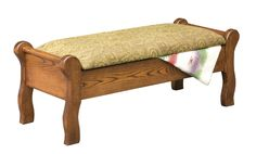Bedroom Bench Sleigh Style
