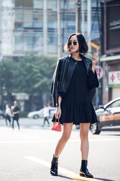 Seoul Cool in Black - The Chriselle Factor