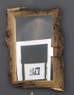 Buy online New age By bleu provence, rectangular framed wooden mirror, wood mirrors Collection Mirror Inspiration, Bathroom Inspiration, New Age, Arte Pallet, Rustic Bathroom Vanities, Bathroom Mirrors, Driftwood Mirror, Bathroom Remodel Cost, New Toilet