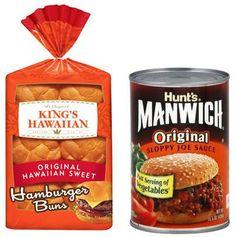 It's Back! Buy KING'S HAWAIIAN Burger Buns, Get Manwich Free Printable Coupon has Reset!
