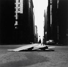 Chicago, negative 1958, print, 1985, Ray K. Metzker
