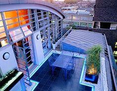 Esempio di Luce in terrazza - I Progetti di Planeta SRL