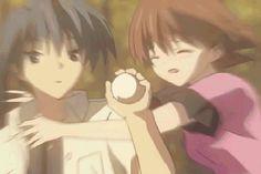 anime gif clannad | ... furukawa nagisa okazaki clannad episode 1 of after story animated GIF