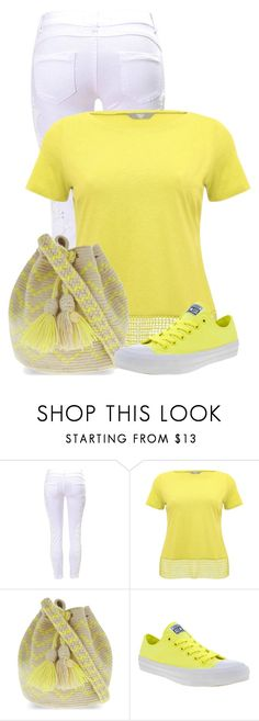 """Untitled #19330"" by nanette-253 ❤ liked on Polyvore featuring M&Co, Guanábana and Converse"