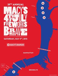 Best viewing spots in Manhattan, Brooklyn and Queens for 2015 #MacysFireworks http://wp.me/p1Xf83-9wX