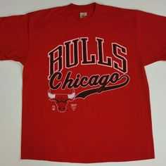 Excellent game tonight. Great come back victory by the Chicago Bulls. Swing by our Etsy shop and pick up this fresh Vintage 90s Bulls Tee. Instagram @justonevintage www.JustOneVintage.com
