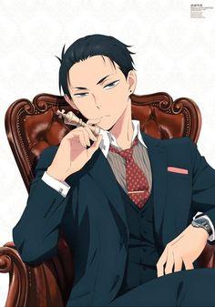 Manga Boy, Chica Anime Manga, Anime Art, Anime Chibi, Handsome Anime Guys, Hot Anime Guys, Anime Boys, Anime Meme, Detective