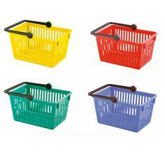 Farbige Einkaufskörbe | Bestswiss Plastic Laundry Basket, Gadgets, Getting Dumped, Shopping, Household, Gadget