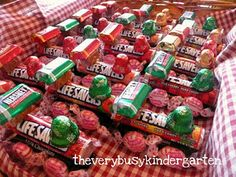 Candy Polar Express Gifts so making these for my kids :)
