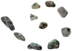 1 lb Emerald Tumbled Stones