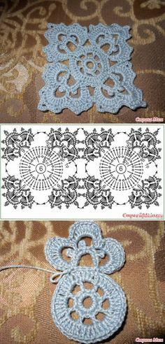 Transcendent Crochet a Solid Granny Square Ideas. Inconceivable Crochet a Solid Granny Square Ideas. Crochet Motifs, Crochet Blocks, Granny Square Crochet Pattern, Crochet Stitches Patterns, Crochet Diagram, Crochet Chart, Crochet Squares, Crochet Designs, Crochet Doilies