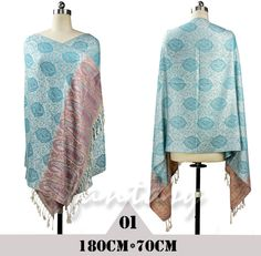 Hot Floral Pashmina Beautiful Sexy Womens Scarves Paisley Stole Shawl Wrap Scarf #Unbranded #Pashmina