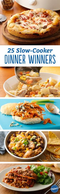The key to rocking the crock pot is quick prep and few ingredients! These slow-cooker dinner winners are the perfect recipe ideas for your family's easy meals this Fall and Winter.