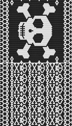Jolly Roger skull pattern