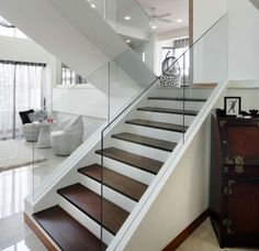 contemporary staircase design | Modern Handrail Designs That Make The Staircase Stand Out