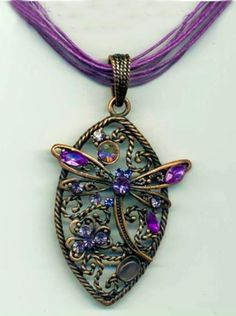 Dragonfly Pendant Dragonfly Decor, Dragonfly Jewelry, Dragonfly Pendant, Beaded Jewelry, Jewelry Box, Jewelery, Handmade Jewelry, Metal Jewelry, Chain Pendants