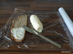 DOMÁCÍ MÁSLO Camembert Cheese, Dips, Ice Cream, Homemade, Cooking, Desserts, Food Ideas, No Churn Ice Cream, Kitchen