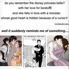 yesss I noticed this when I first read TID!! Belle & Tessa are my Queens <3