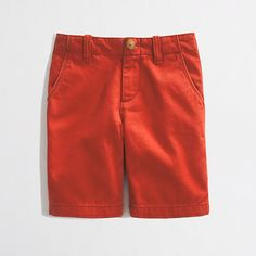 J.Crew Factory Boys' Chino Short, Sizes 8 & 10, $17.99, 02/22/14