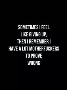 MOTIVATION ALERT!! ;) Come on, give it all you got and prove them all how awesome you are!! not that easy not so hard!