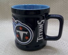 Tennessee Titans Coffee Mug Embossed Cup Official NFL Product #TennesseeTitans