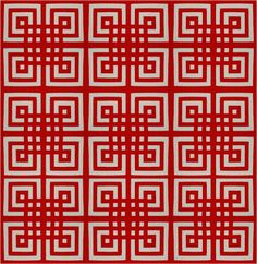 Free pattern day!  Red and white quilts  (part 1)