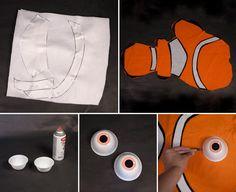 DIY Nemo Costume Step 02