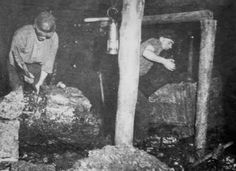 Old photograph of a coal miner in Methil, Fife , Scotland. Old photograph of a coal miner in Methil, Fife , Scotland. Old Photographs, Old Photos, Coal Miners, New Inventions, Industrial Revolution, Slums, Sixteen Tons, Scotland, Working Class