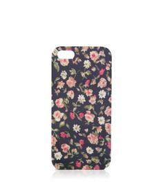 Blue Floral iPhone 5 Case