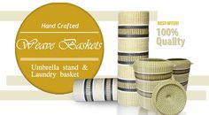home decor Laundry Basket, Basket Weaving, Summer, Gifts, Home Decor, Homemade Home Decor, Summer Time, Presents, Gifs