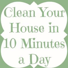Adventures of a DIY Mom: Clean Your House in 10 Minutes a Day - Bathroom