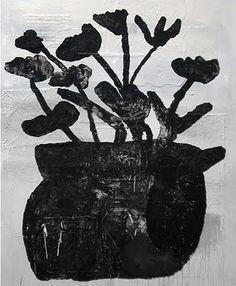 Untitled Flowers Donald Baechler Art Illustration