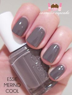 Essie Merino Cool - one of my fave colors this season!